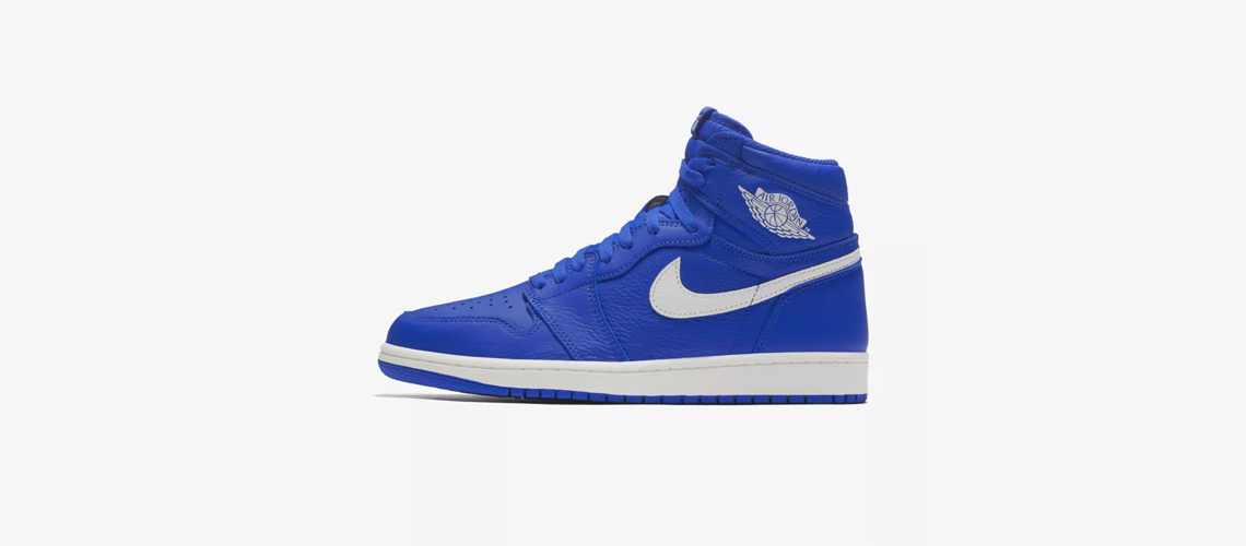 555088 401 Air Jordan 1 Hyper Royal