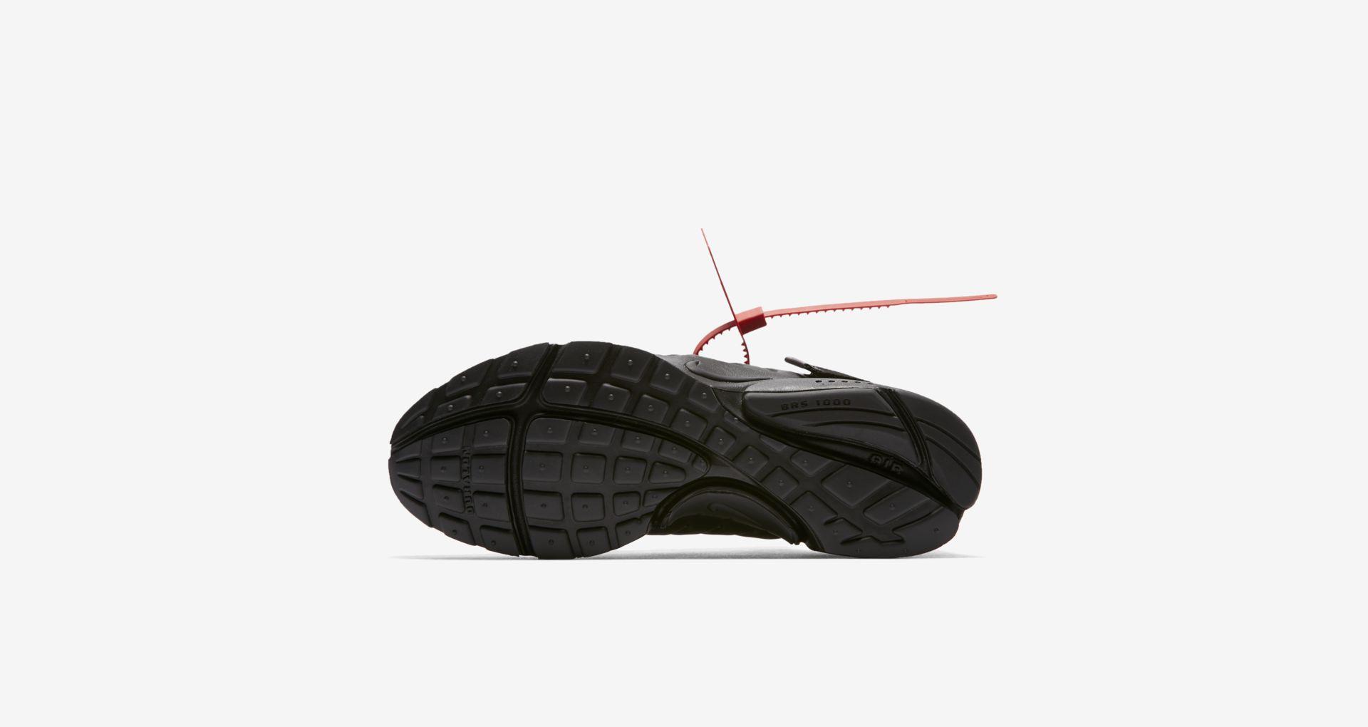 AA3830 002 Off White x Nike Air Presto Black 1