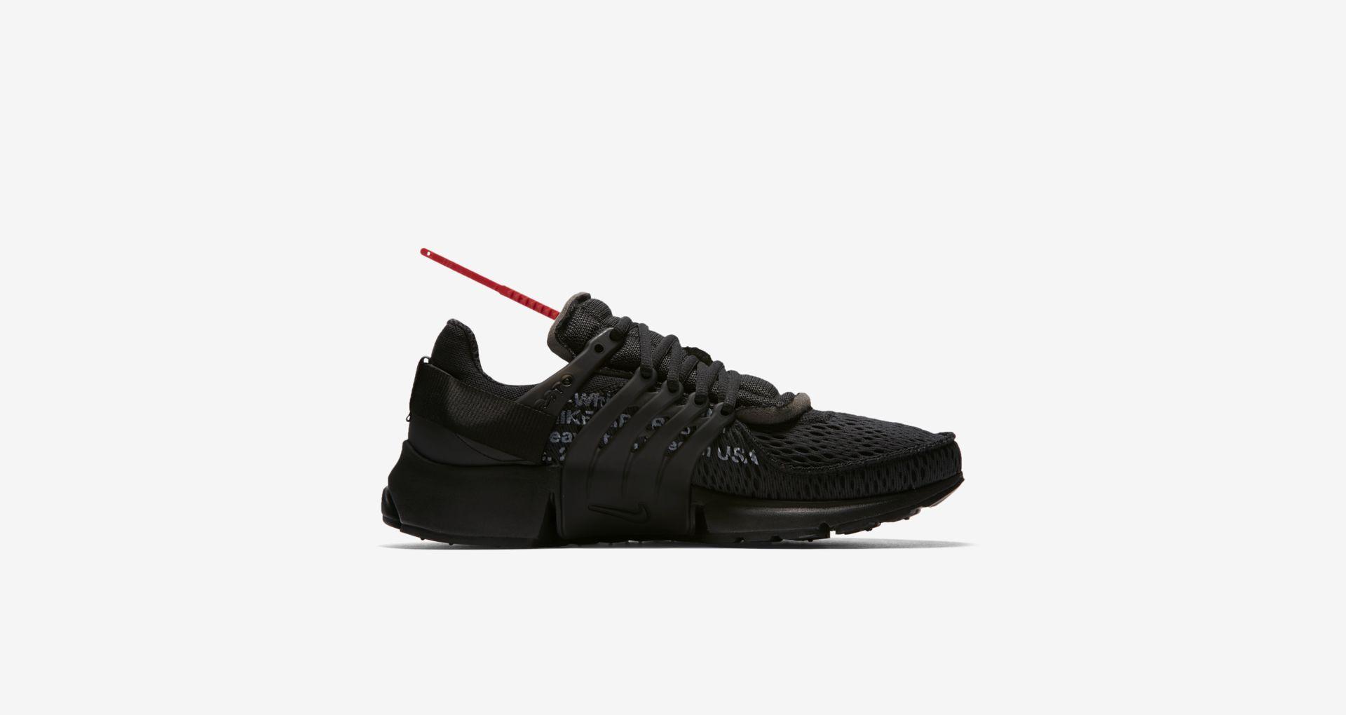 AA3830 002 Off White x Nike Air Presto Black 2