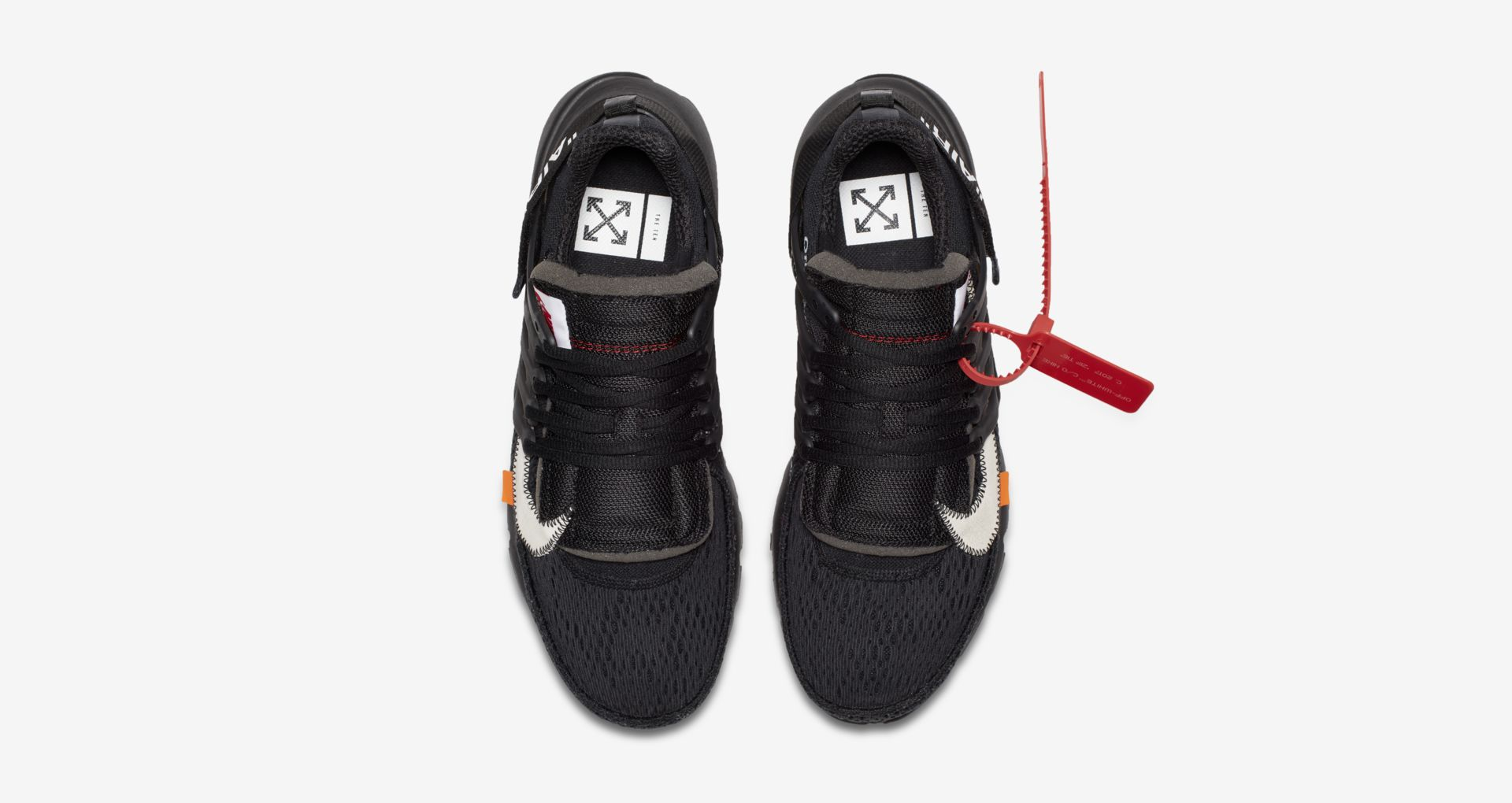 AA3830 002 Off White x Nike Air Presto Black 3