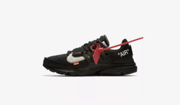 Off-White x Nike Air Presto – Black
