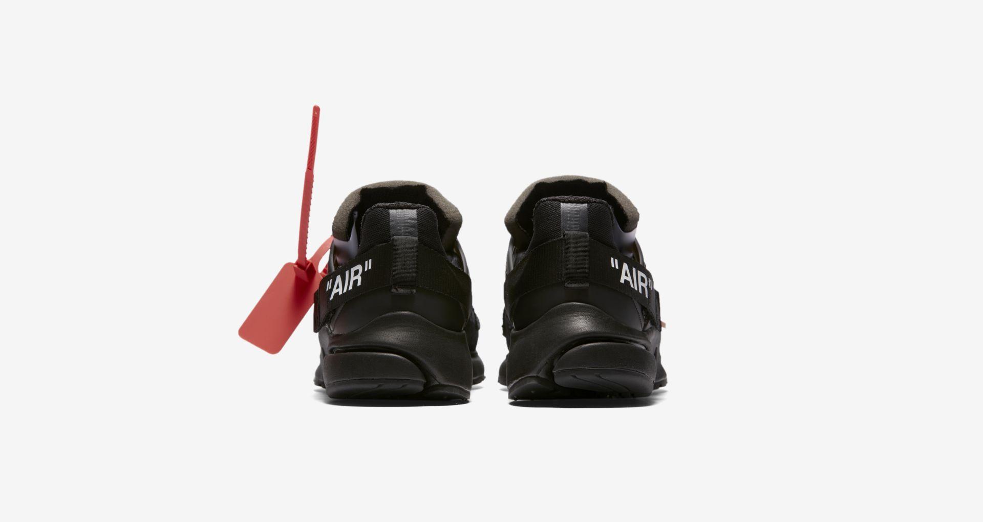 AA3830 002 Off White x Nike Air Presto Black 5
