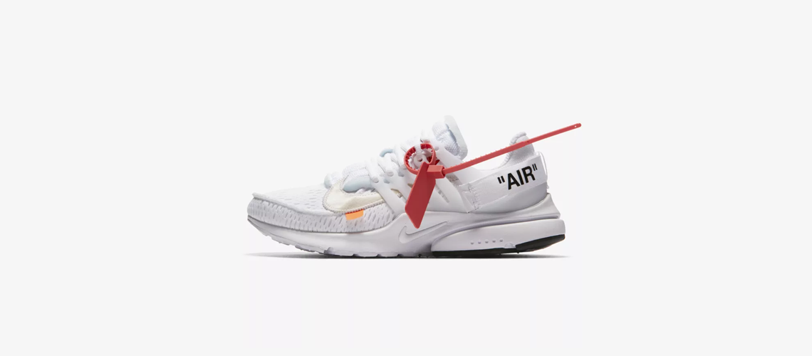 AA3830 100 OFF WHITE x Nike Air Presto White