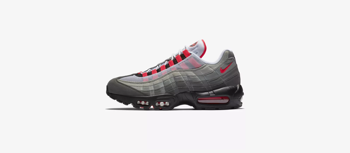 AT2865 100 Nike Air Max 95 Solar Red