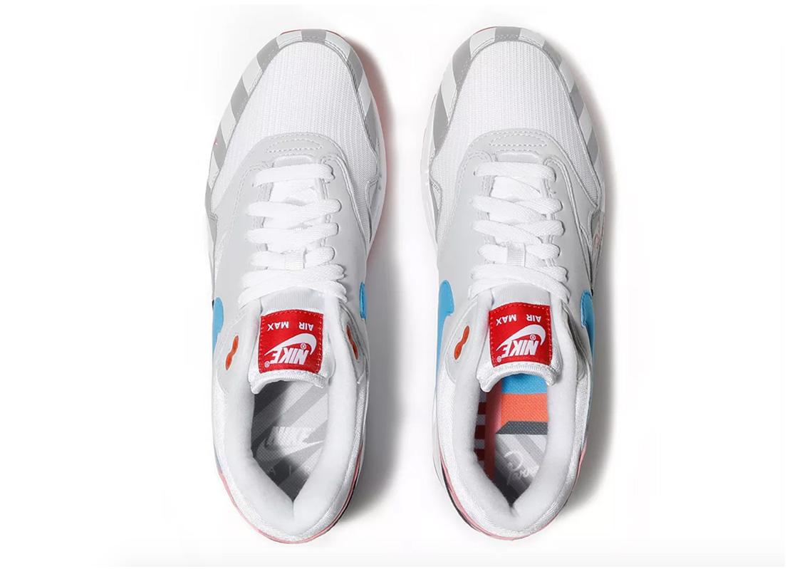 AT3057 100 Parra x Nike Air Max 1 6