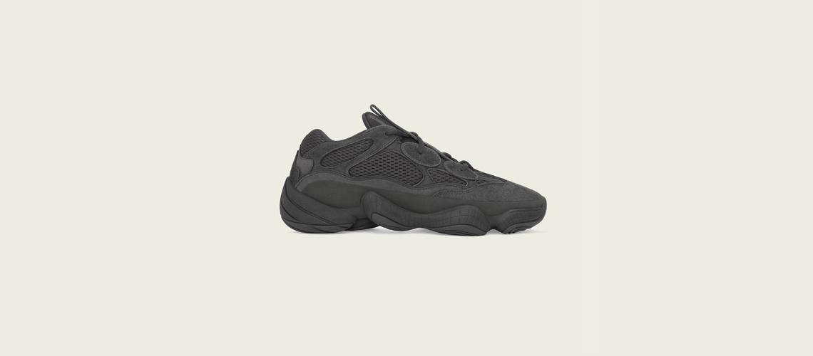 F36640 adidas Yeezy Boost 500 Utility Black