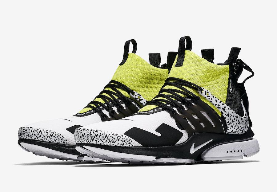 AH7832 100 ACRONYM x Nike Air Presto Mid Dynamic Yellow 1