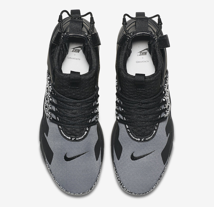on sale 1ba9e 8876f ᐅ ACRONYM x Nike Air Presto Mid – Cool Grey | #SNKR◁