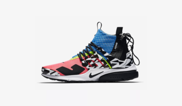 ACRONYM x Nike Air Presto Mid – Racer Pink