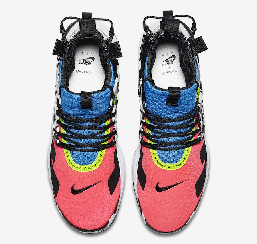 AH7832 600 ACRONYM x Nike Air Presto Mid Racer Pink 4