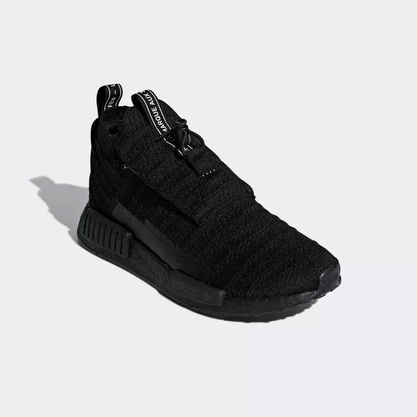 AQ0927 adidas NMD TS1 Primeknit GTX Black 3