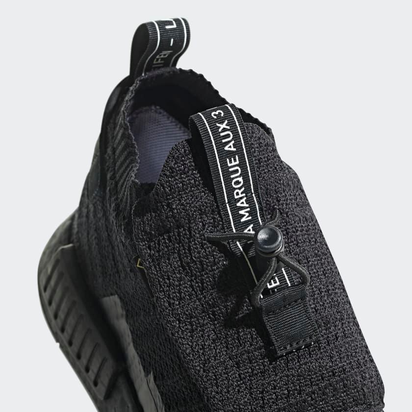 AQ0927 adidas NMD TS1 Primeknit GTX Black 7