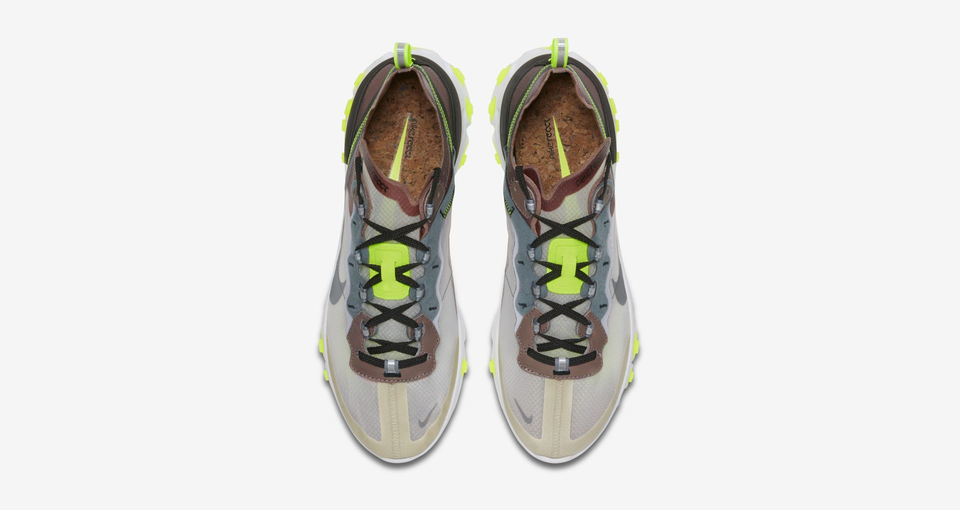 AQ1090 002 Nike React Element 87 Desert Sand 3