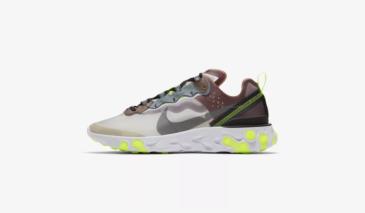 Nike React Element 87 – Desert Sand