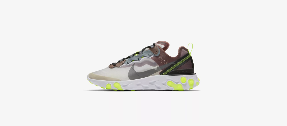 AQ1090 002 Nike React Element 87 Desert Sand
