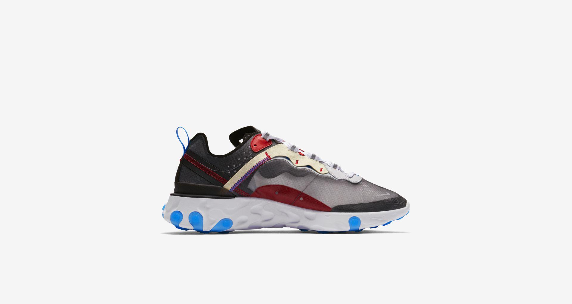 AQ1090 003 Nike React Element 87 Dark Grey 2