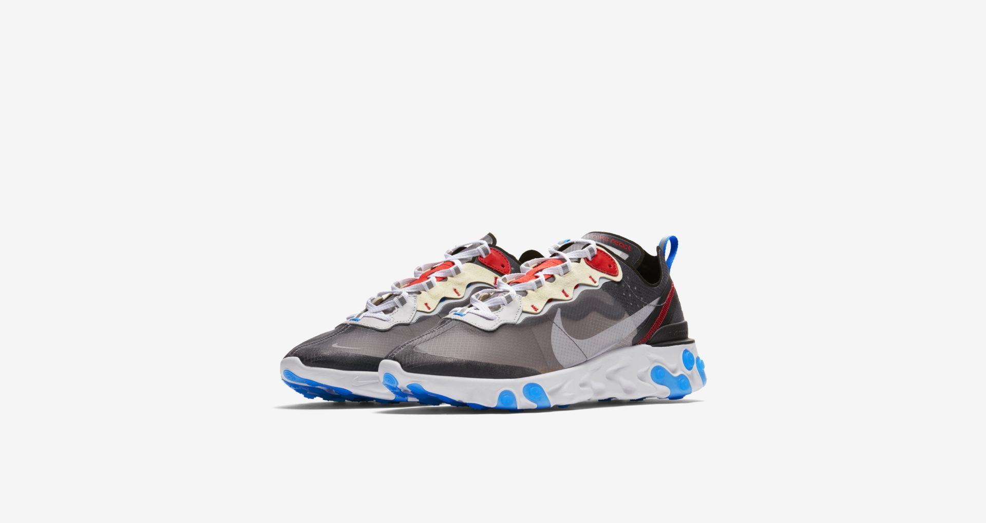 AQ1090 003 Nike React Element 87 Dark Grey 4