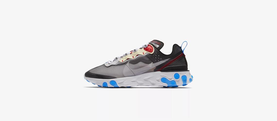 AQ1090 003 Nike React Element 87 Dark Grey