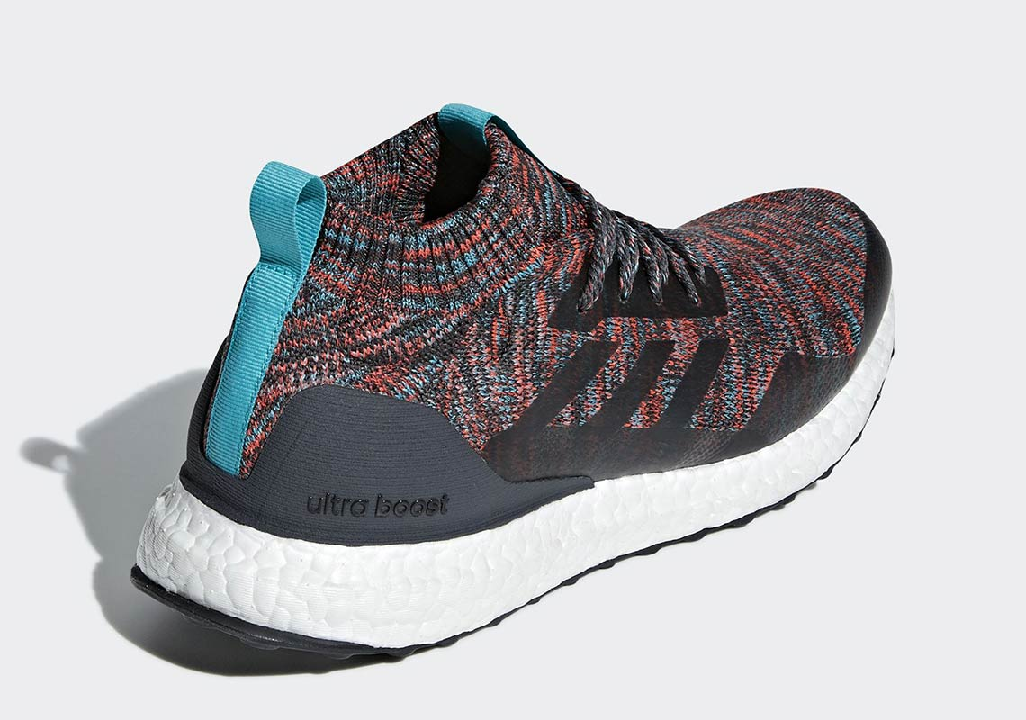 G26843 adidas Ultra Boost Mid Black Multicolor 3