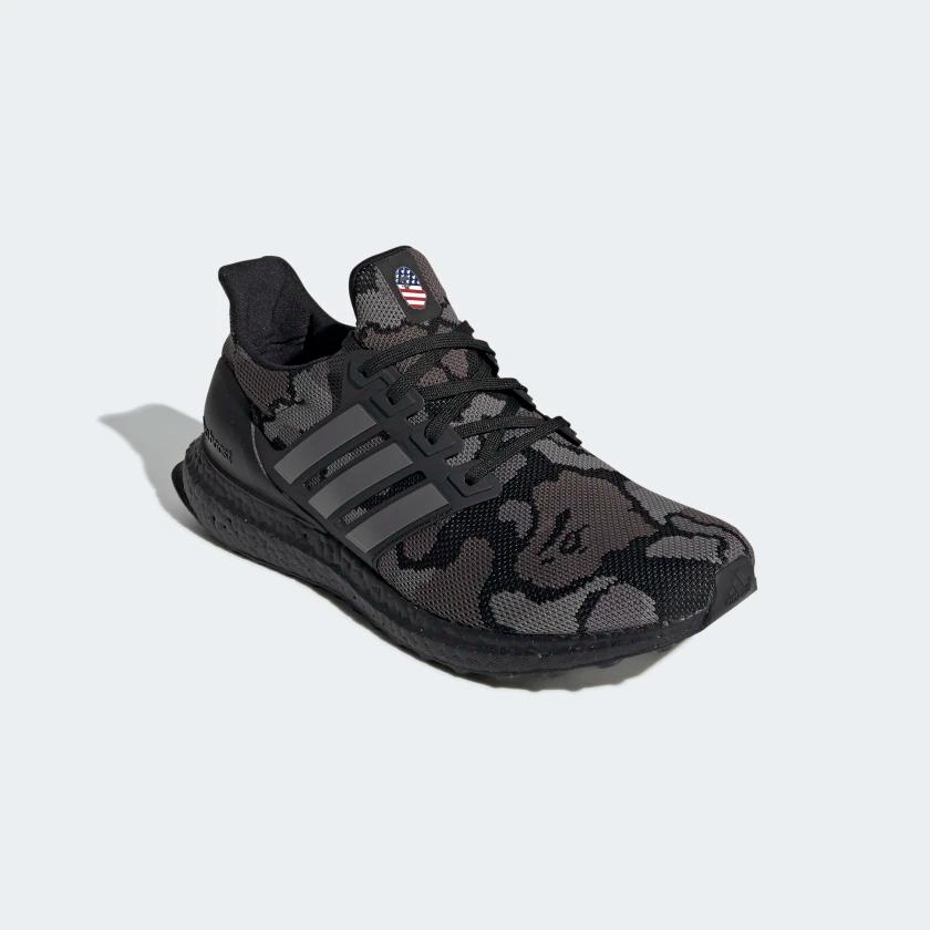 G54784 BAPE x adidas UltraBOOST Black Camo 3