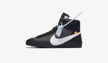 Off-White x Nike Blazer Mid – Black