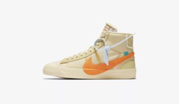 Off-White x Nike Blazer Mid – Orange