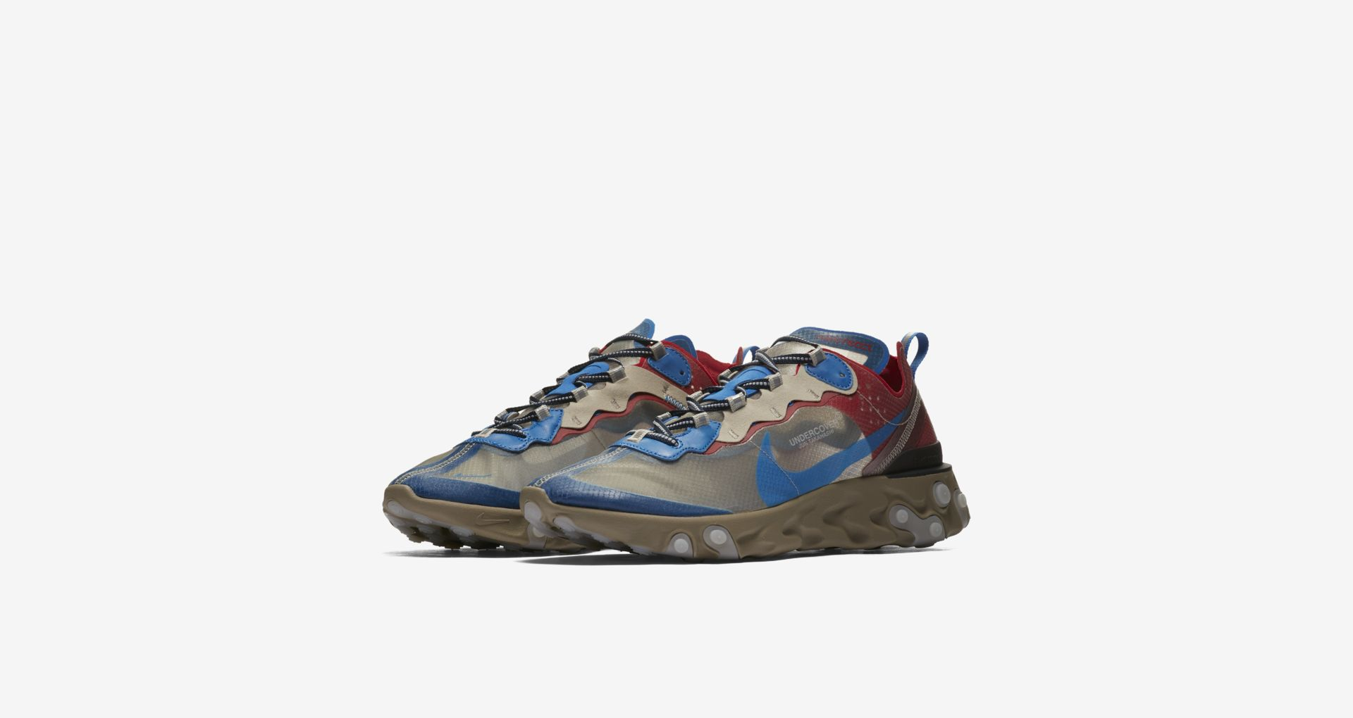 BQ2718 200 Undercover x Nike React Element 87 Light Beige 1