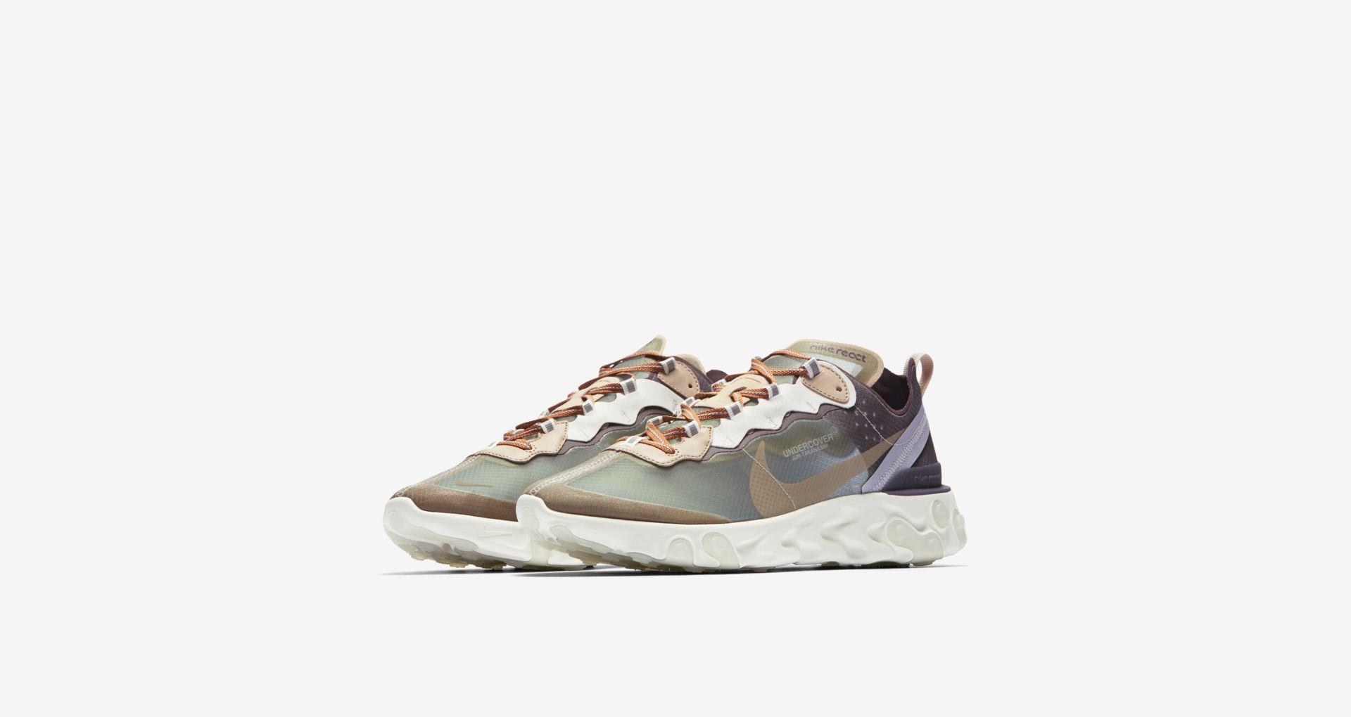 BQ2718 300 Undercover x Nike React Element 87 Green Mist 1