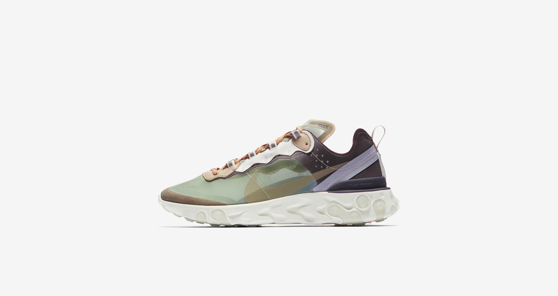 BQ2718 300 Undercover x Nike React Element 87 Green Mist 2