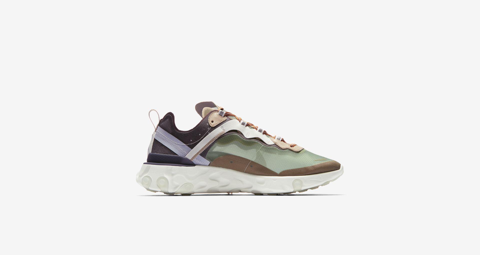 BQ2718 300 Undercover x Nike React Element 87 Green Mist 4