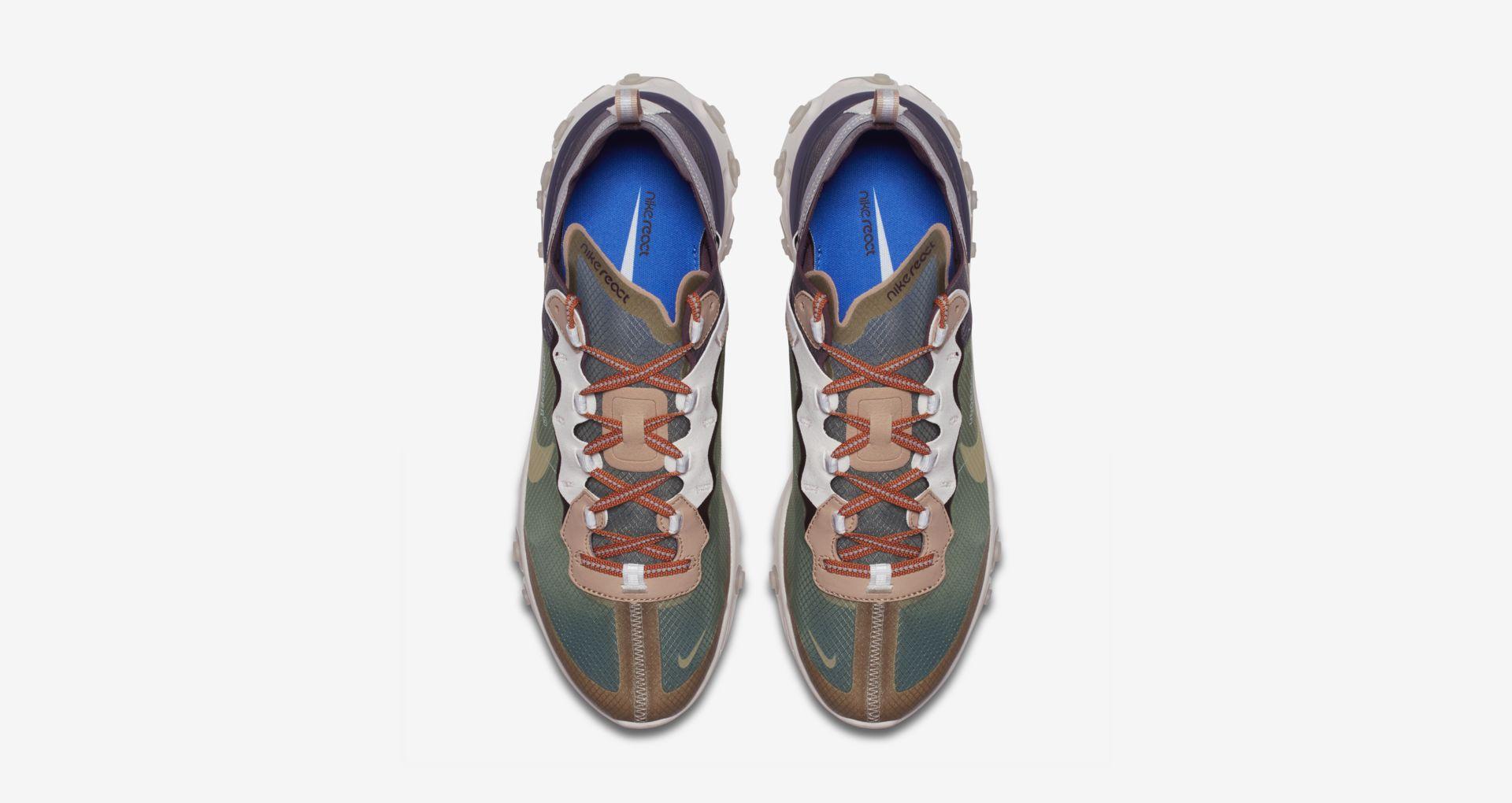 BQ2718 300 Undercover x Nike React Element 87 Green Mist 5