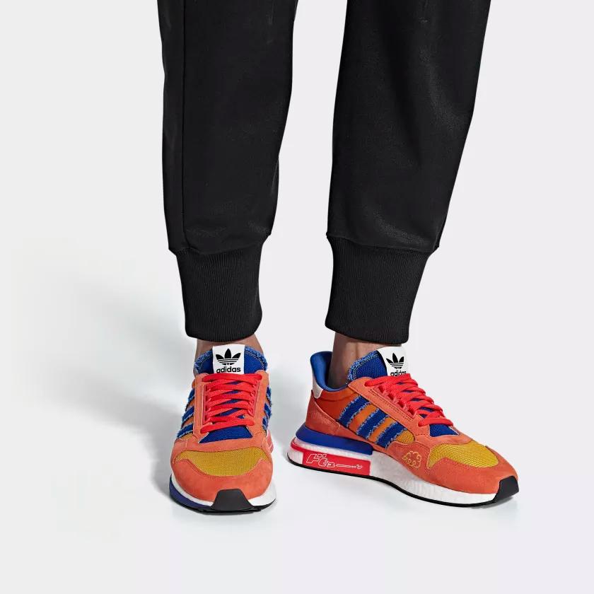 D97046 Dragonball Z x adidas ZM 500 RM Son Goku 1