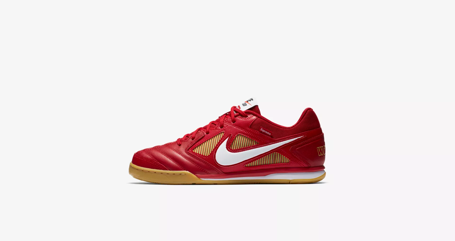 Supreme x Nike SB Gato Red 1