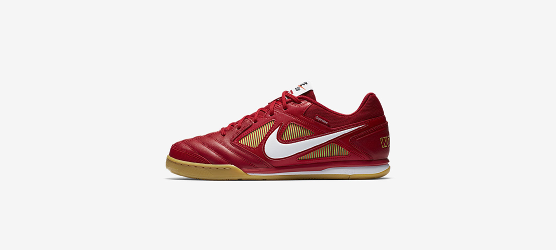 Supreme x Nike SB Gato Red 1110x500