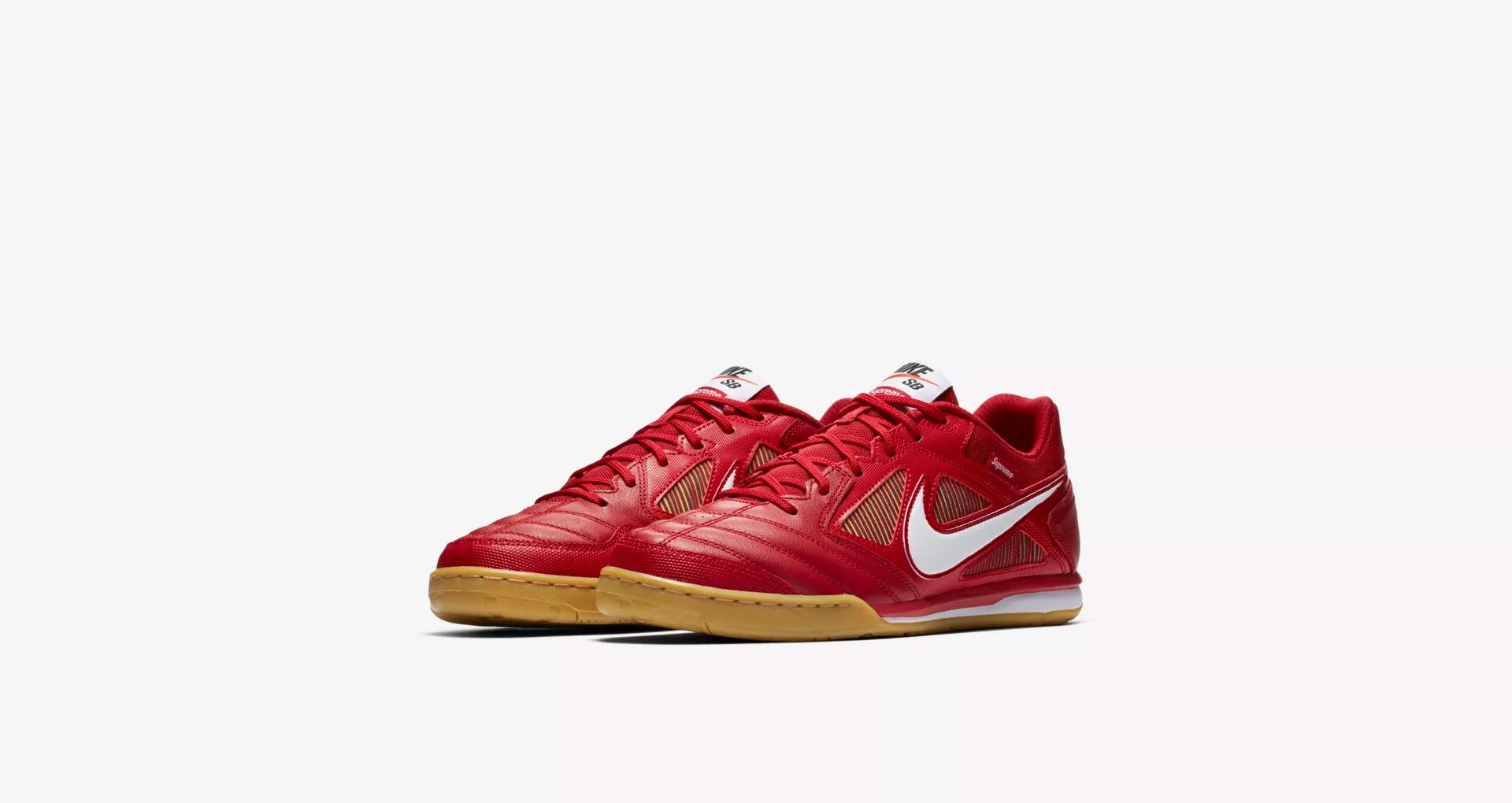 Supreme x Nike SB Gato Red 6