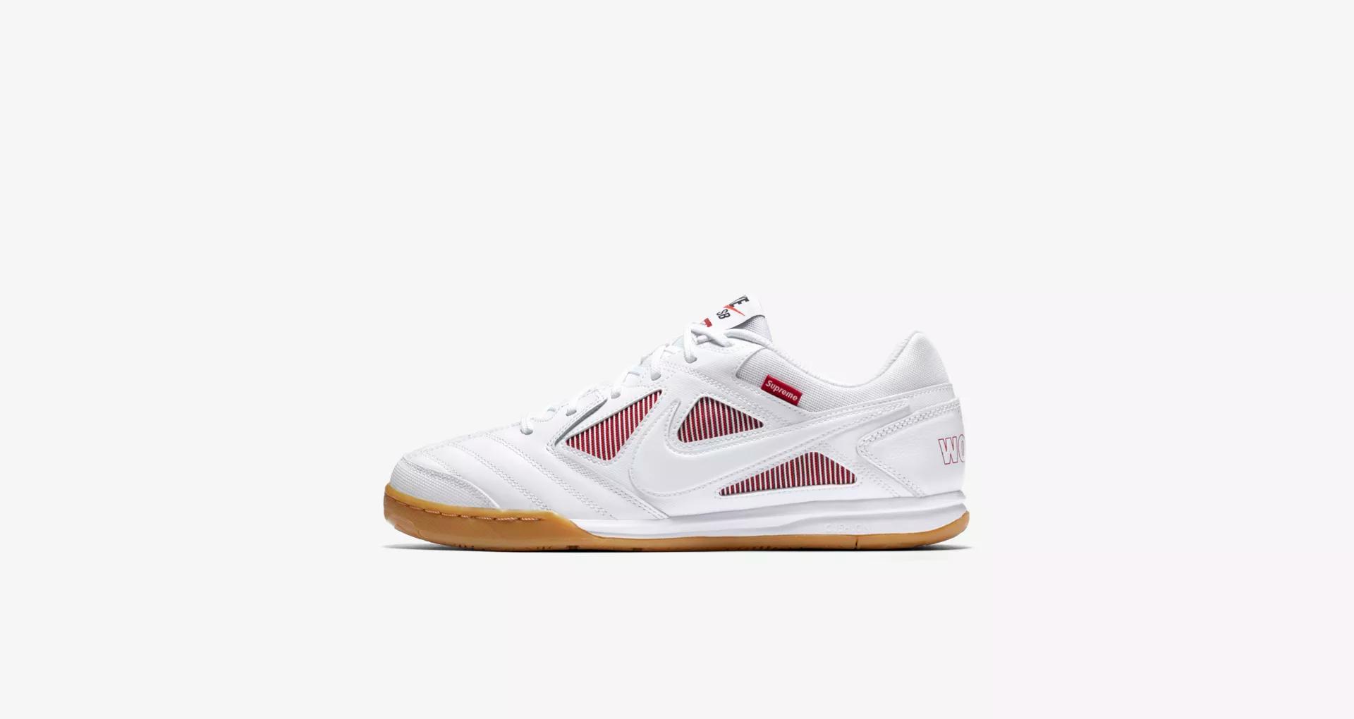 Supreme x Nike SB Gato White 1