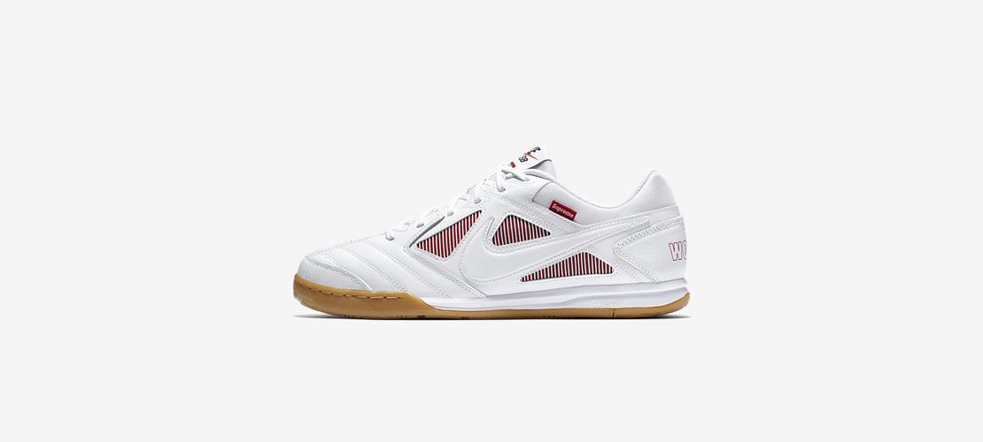 Supreme x Nike SB Gato White 1110x500