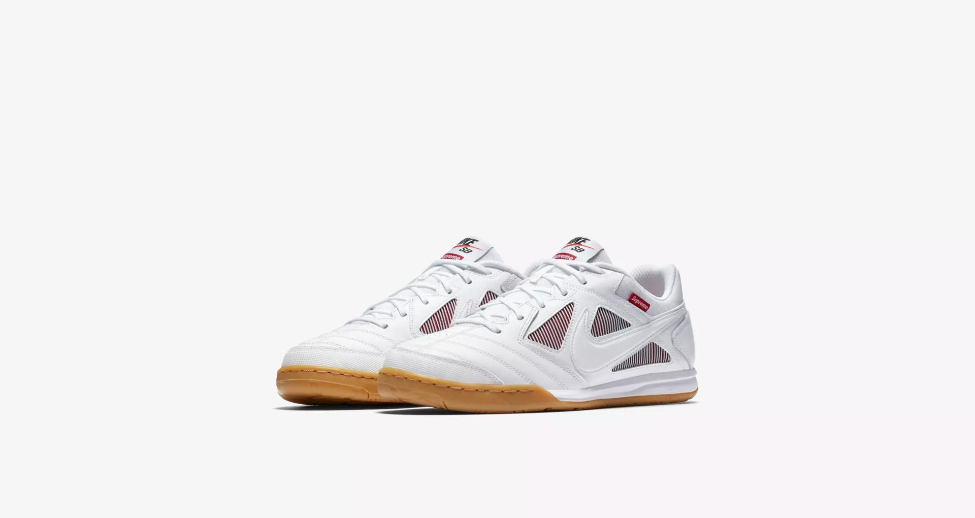 Supreme x Nike SB Gato White 6