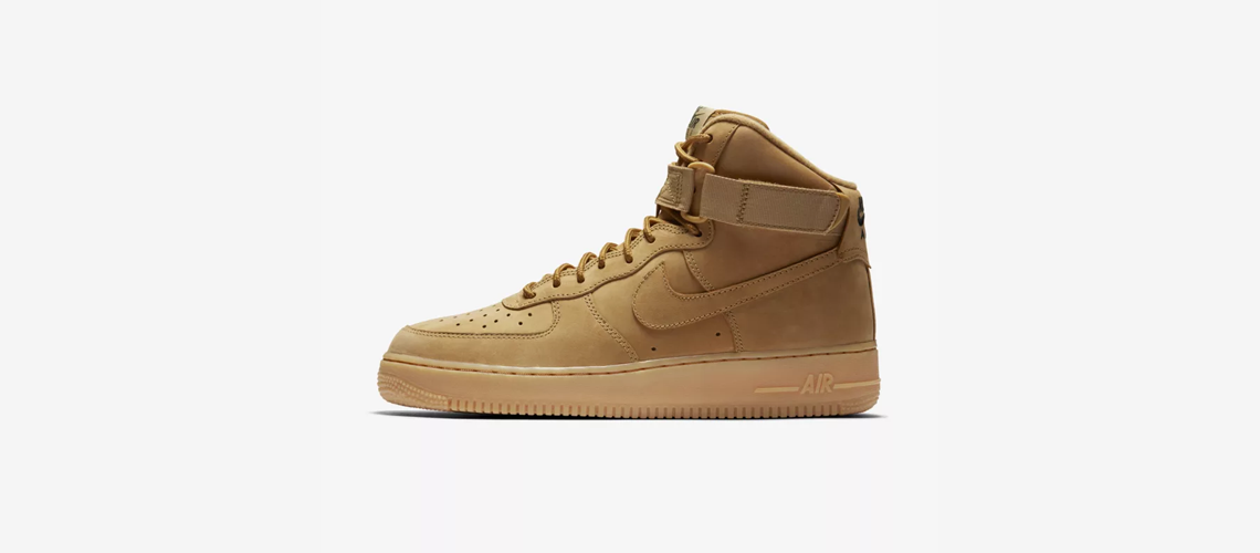 882096 200 Nike Air Force 1 High Flax