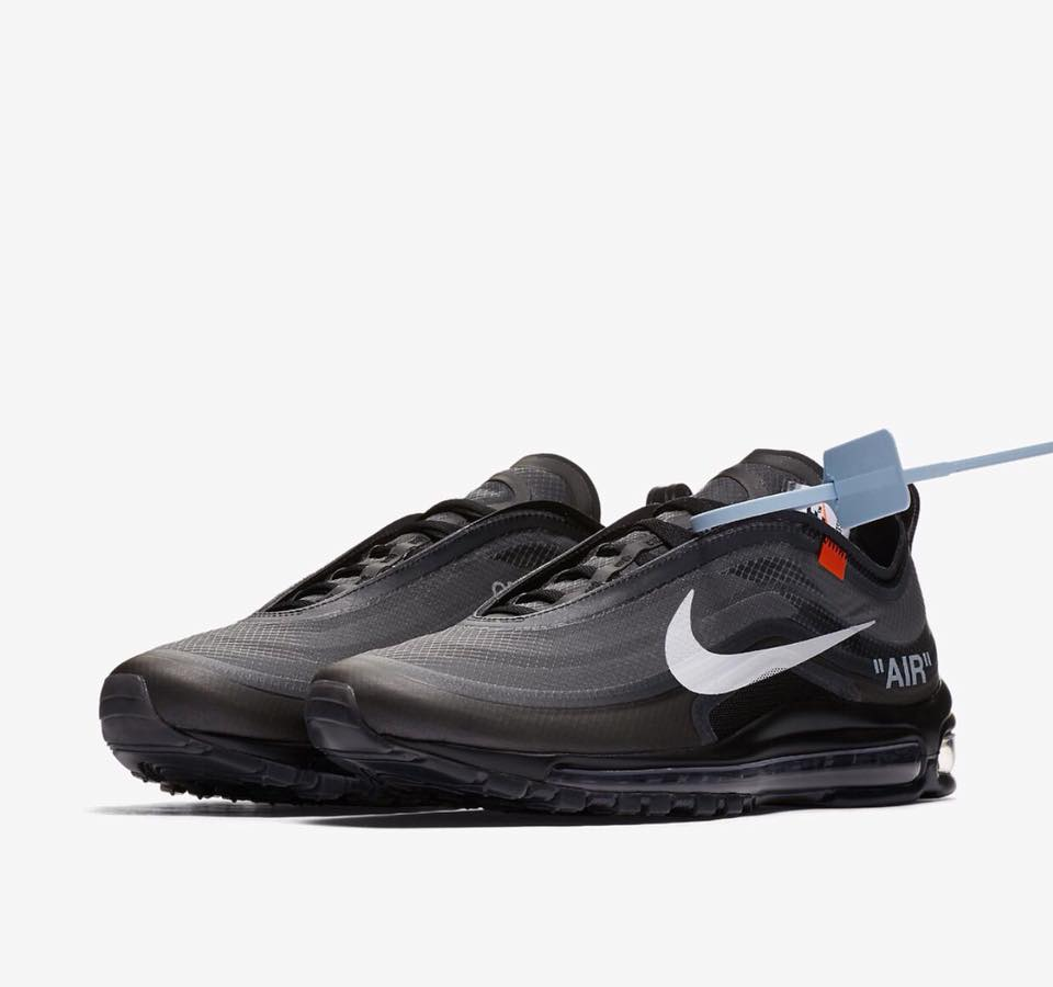 AJ4585 001 Off White x Nike Air Max 97 Black 1