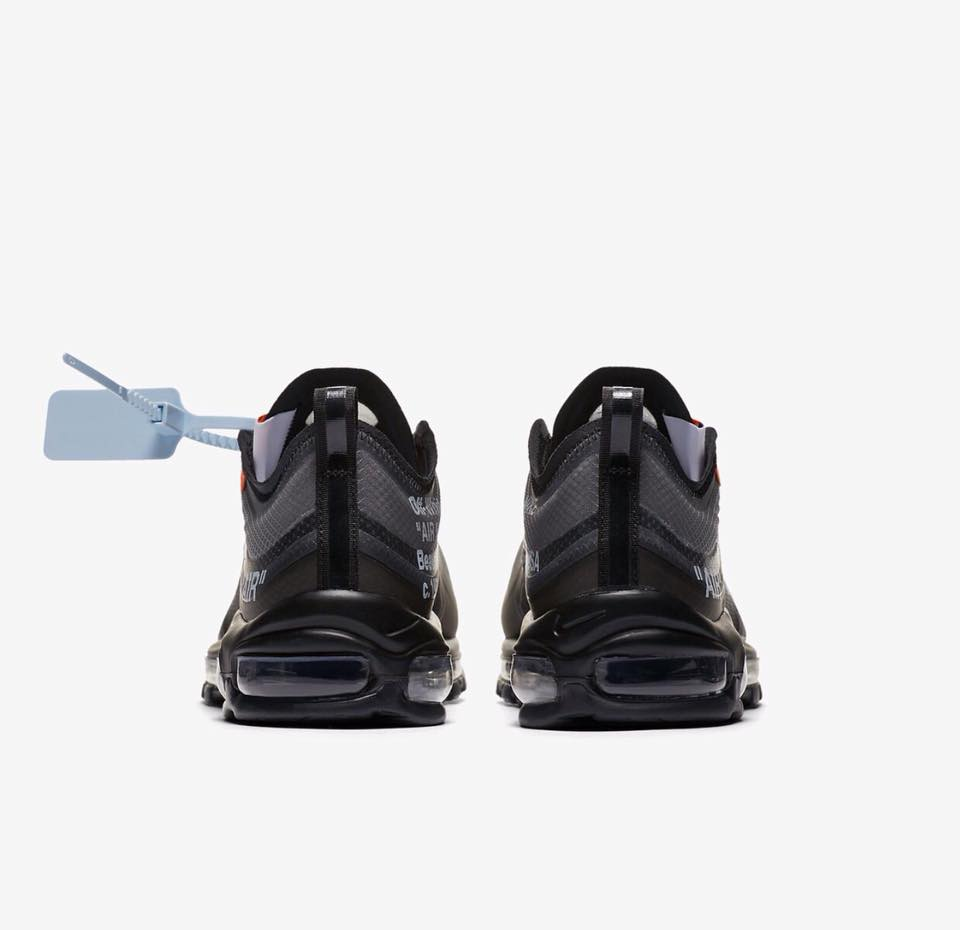 AJ4585 001 Off White x Nike Air Max 97 Black 3