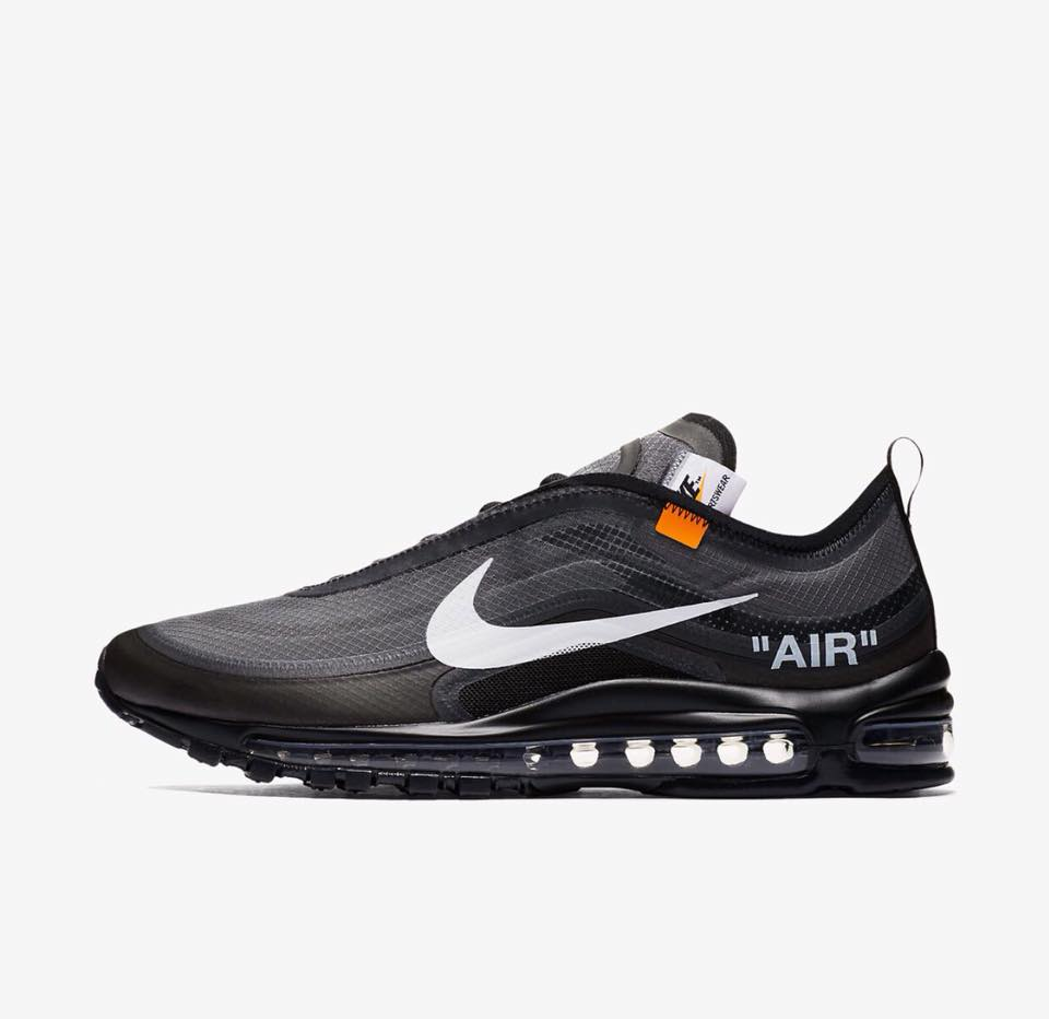 AJ4585 001 Off White x Nike Air Max 97 Black 4