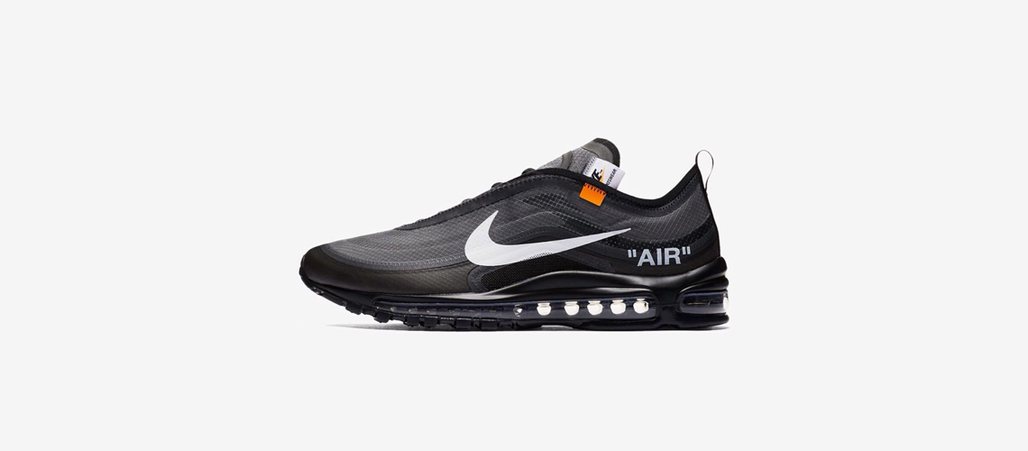 AJ4585 001 Off White x Nike Air Max 97 Black