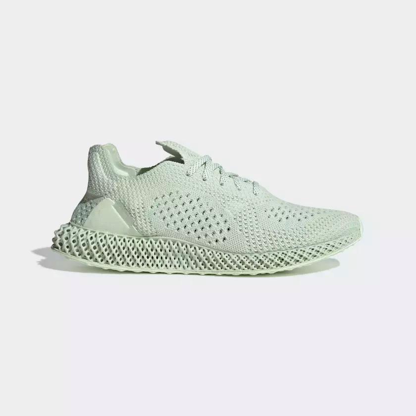 BD7400 Daniel Arsham x adidas Future Runner 4D 1