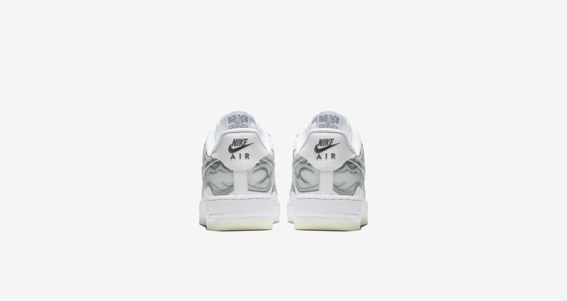 BQ7541 100 Nike Air Force 1 Skeletal Force 1