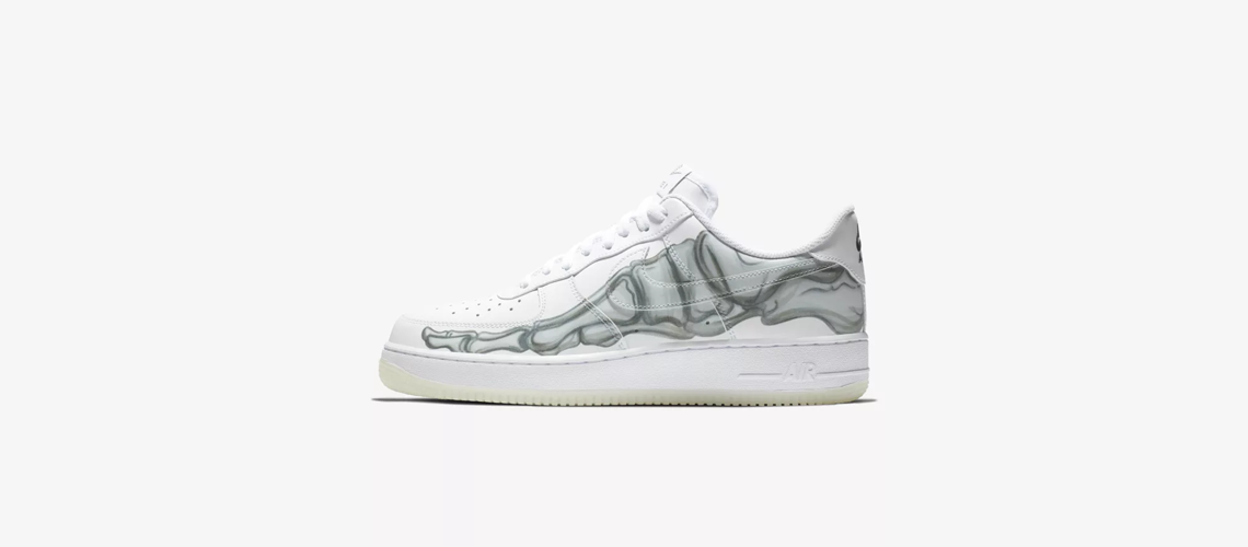 BQ7541 100 Nike Air Force 1 Skeletal Force