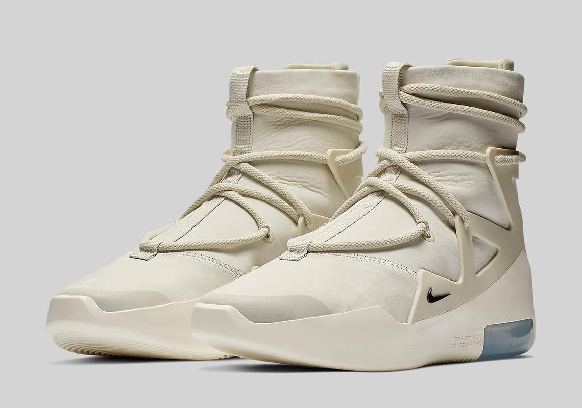 AR4237 002 Nike Air Fear Of God 1 Light Bone 1