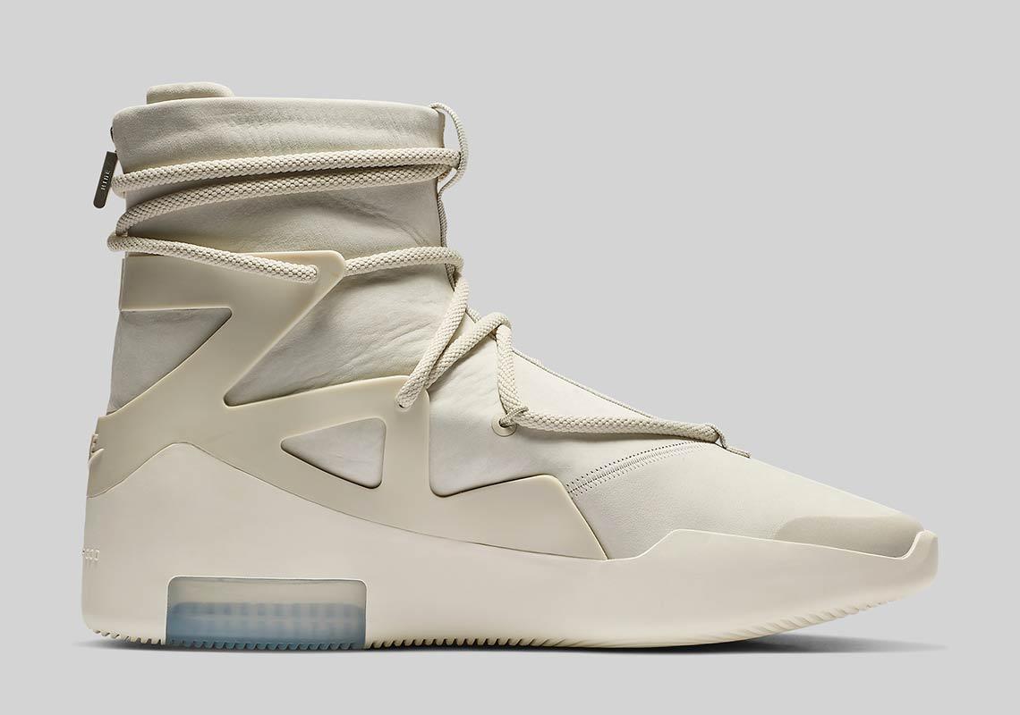 AR4237 002 Nike Air Fear Of God 1 Light Bone 3