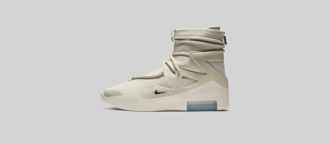 AR4237 002 Nike Air Fear Of God 1 Light Bone