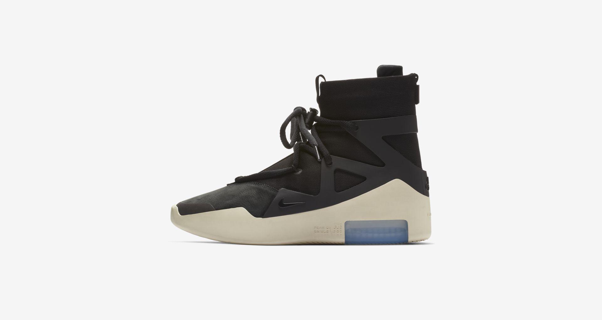 AR4237 001 Nike Air Fear Of God 1 Black 1